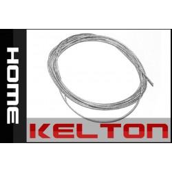 Kleotn HOME Câble d'acier enrobé d'une gaine en PVC 4mm (1 m)
